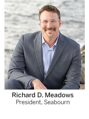 Richard Meadows President of Seabourn